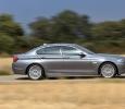Seitenansicht des neuen 5er BMW (Foto: BMW)