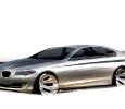 Die neue BMW 5er Limousine, Exterieur-Skizze (Grafik: BMW)