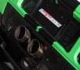 Die 110-Millimeter-Endrohre der hauseigenen Sportabgasanlage