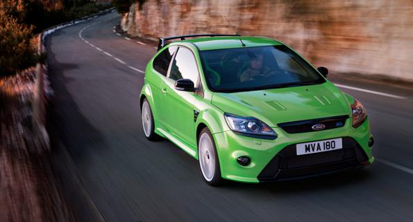 Sportliches Spitzenmodell der Ford Focus-Baureihe: der neue Ford Focus RS läuft nun in Saarlouis vom Band. (Foto: Ford)