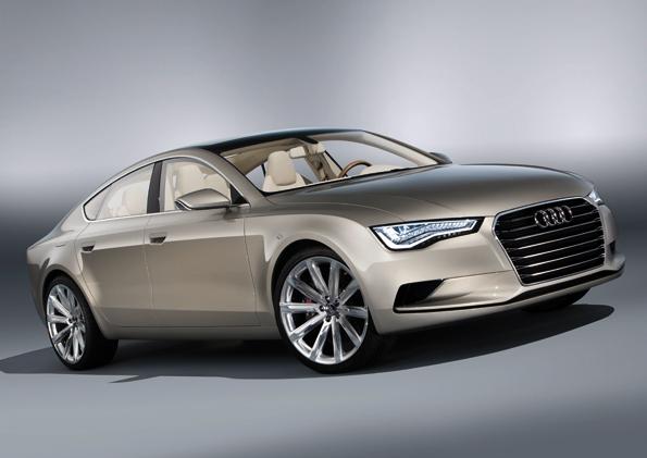Neue Studie von Audi: Der Audi Sportback Concept (Foto: Audi)