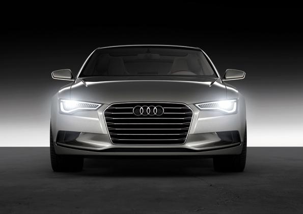 """Das neue """"Gesicht"""" von Audi: Sportback Concept (foto: Audi)"""