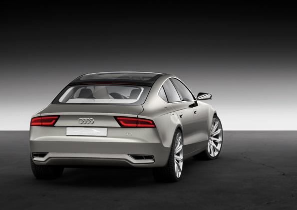 Heckansicht des Audi Sportback Concept (Foto: Audi)