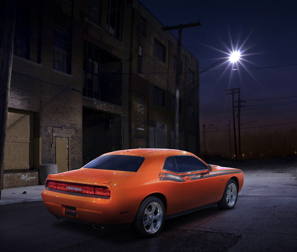 Das US-Muscle Car frisch aus dem Showroom: Dodge Challenger (Foto: Dodge)
