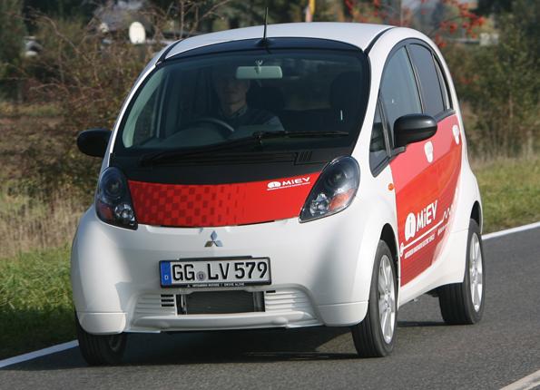 Mitsubishi i MiEV bald im Testbetrieb auf VEuropas Straßen (Foto: Mitsubishi)