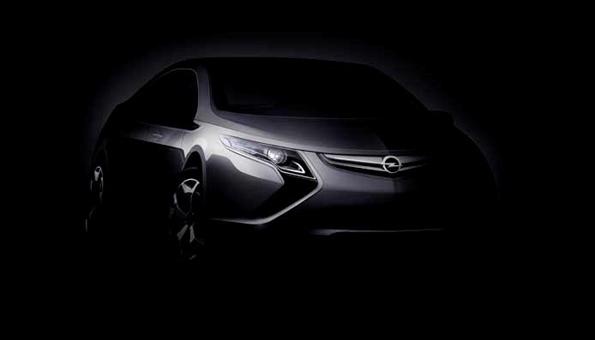 In Genf wird mehr zu sehen sein: Opel Ampera (Foto: Opel)