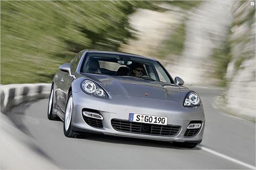 Der neue Porsche Panamera (Foto: Porsche)