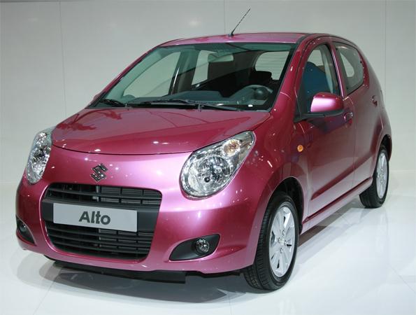 Ab 8990 Euro beim Händler: der neue Suzuki Alto (Foto: United Pictures)