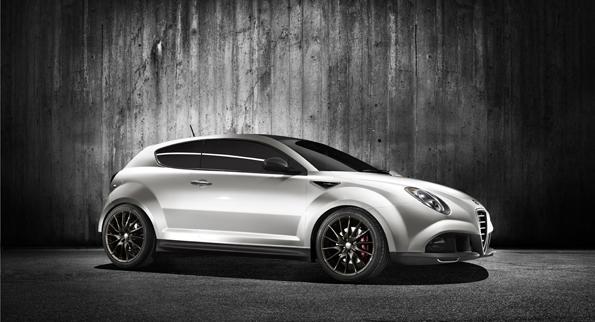 Kleiner Bösewicht, aber ganz schön schnell: Die MiTo GTA-Conceptstudie (Foto: Alfa Romeo)
