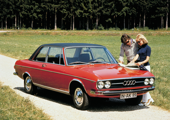 Audi 100 (Foto: Audi)