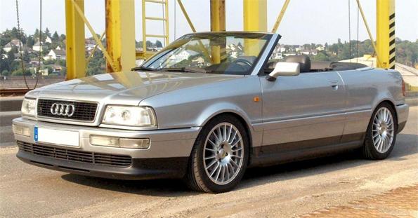 Gebaut von 1991 bis 2000: Das erste Audi Cabriolet der Neuzeit (Foto: Ollfried)