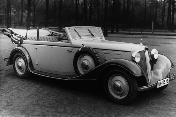 Das Audi Front Cabrio wurde von 1933 - 1934 gebaut (Foto: Audi)