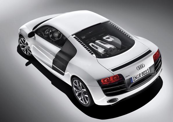 Sportwagendesign des Audi R8 (Foto:Audi)