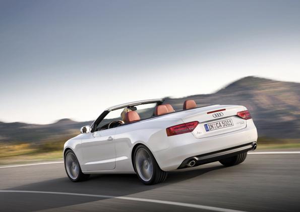 Unverkennbar A5 (Foto Audi)