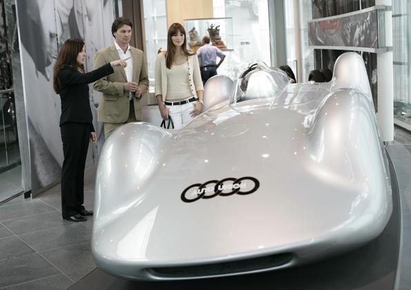 Im März gibt es Sonderführungen zum Thema Motorsport-Historie in Audis Museum (Foto: Audi)