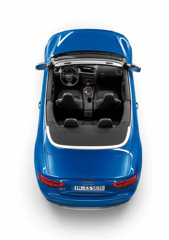 Das neue Audi S5 Cabrio in der Totale (Foto: Audi)