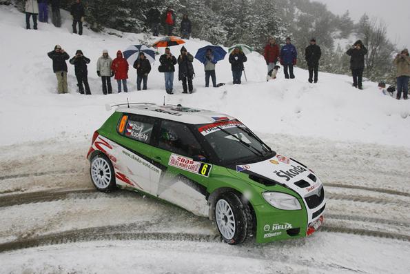 Guter Start in den Rallyesport für den Skoda Fabia S2000
