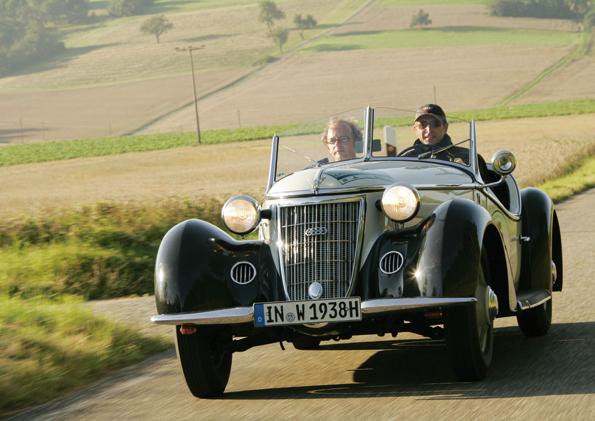 Wanderer W 25 K Roadster, Baujahr 1938 (Foto: Audi)