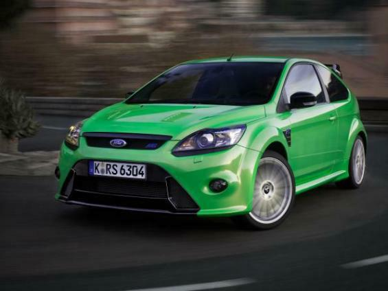 Der neue Ford Focus RS (Foto: Ford)