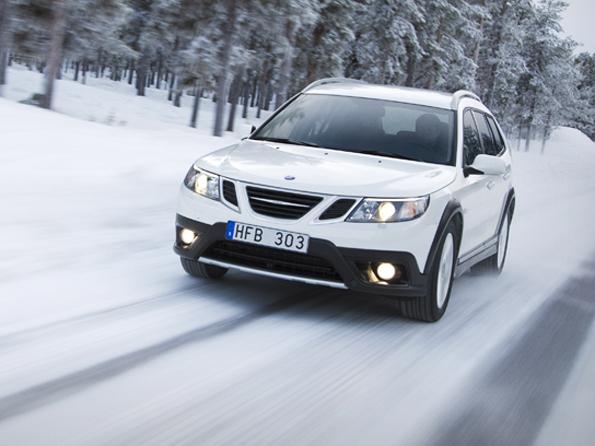 Alternative zu SUVs und Crossovern? Der neue SAAB 9-3X (Foto: Saab)