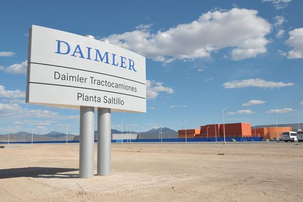 Im neuen Daimler Trucks Werk in Saltillo (Mexiko) werden Freightliner produziert (Foto: Daimler)