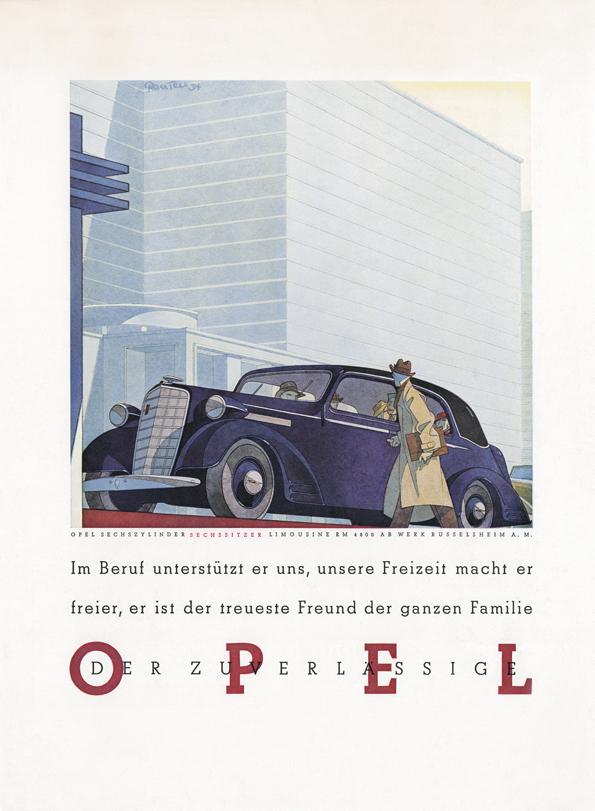 Das Fahrzeug für den erfolgsverwöhnten Direktor kann nur ein Opel sein (Bild Opel)