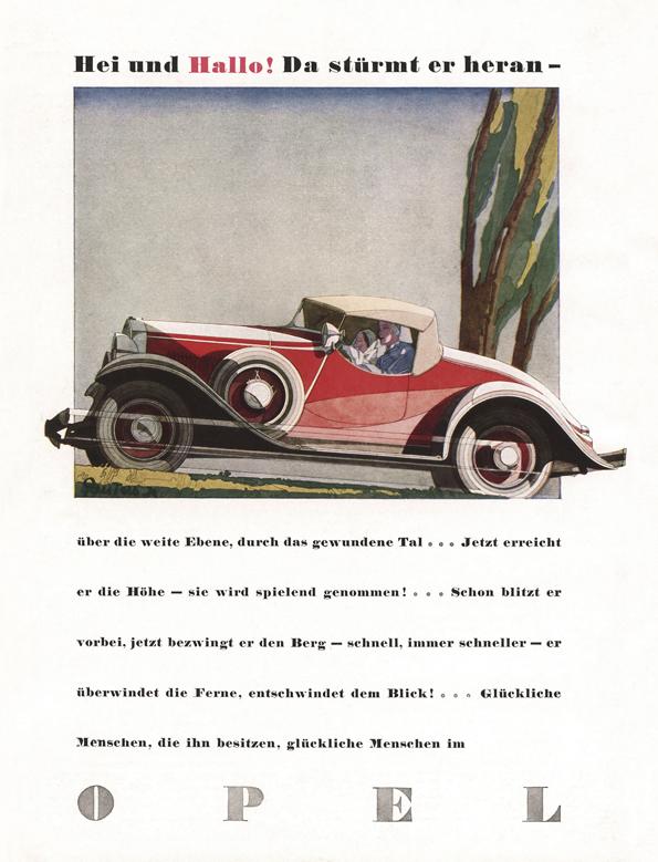 Welch ein Leistungsträger, dieser Opel! (Bild: Opel)