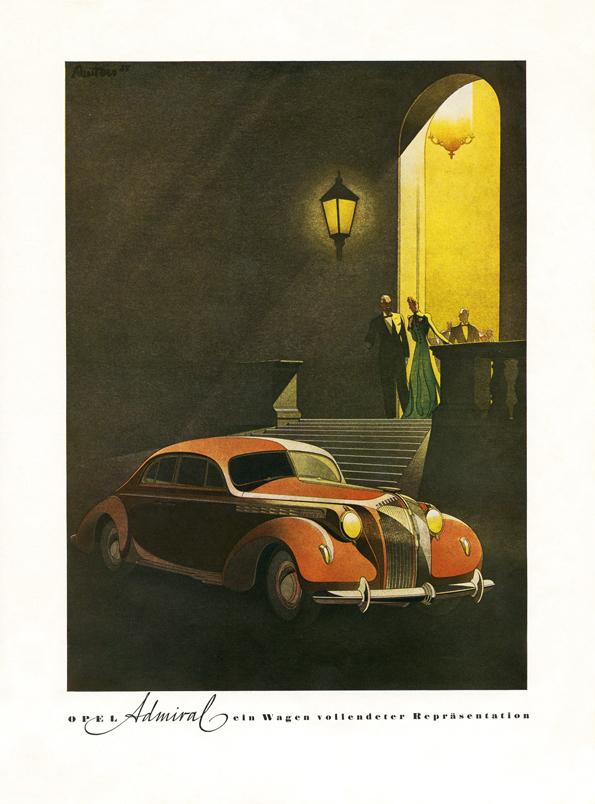 Der Opel Admiral für die oberen Zehntausend (Bild: Opel)