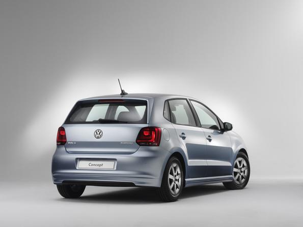 Volkswagen Polo Studie BlueMotion (Foto: Volkswagen)