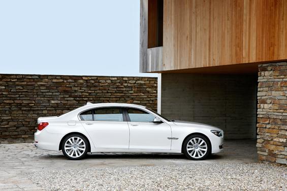 Seitenansicht des neuen BMW Spitzenmodells (Foto: BMW Group)
