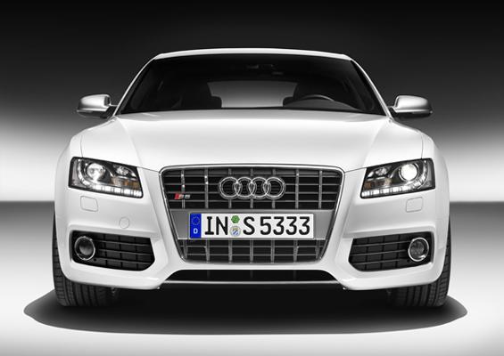 Unverwechselbares Gesicht: Der Audi A5 Sportback (Foto: Audi)