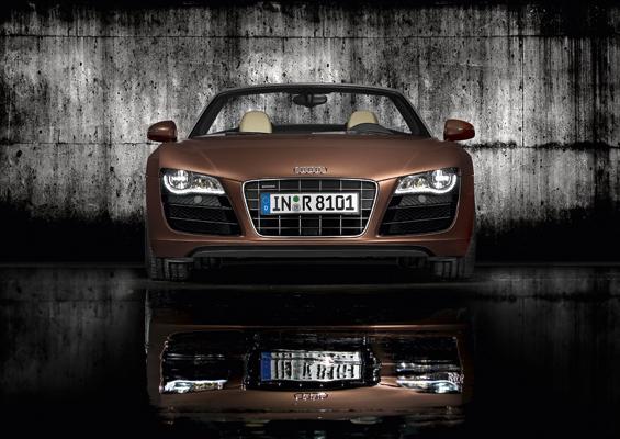 Erscheinung: Der neue Audi R8 Spyder (Foto: Audi)