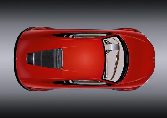 Cool auch von oben: der e-tron (Foto: Audi)