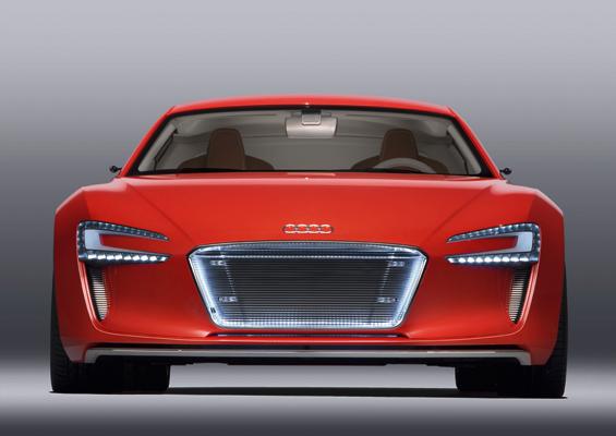 Das Audi-Gesicht ist auch beim e-tron unverkennbar (Foto: Audi)
