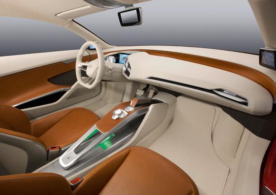 Design unleashed: wenn Designer mal frei arbeiten dürfen, kommt so etwas wie das Interieur des e-tron dabei raus. (Foto: Audi)