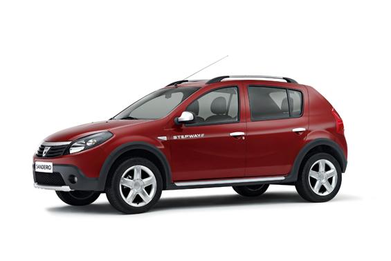 Der neue Dacia Sandero Stepway Crossover in der Seitenansicht (Foto: Dacia)