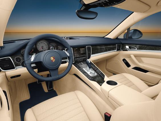 Der Innenraum des Porsche Panamera (Foto: Porsche)