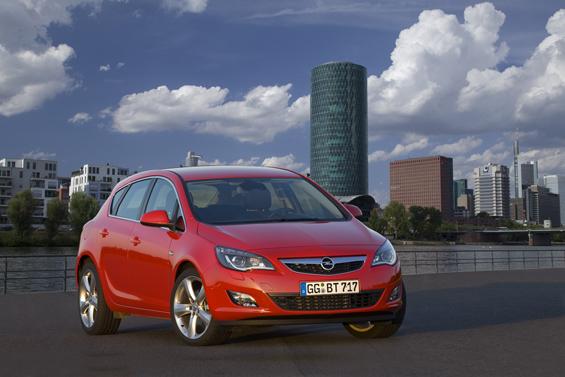 Weltpremiere: Zur Internationalen Automobilausstellung in Frankfurt (17. bis 27. September) präsentiert Opel den neuen Astra. (Foto: Opel)