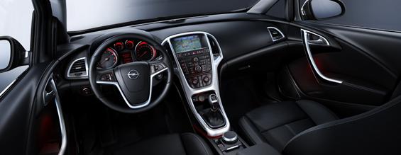 Blick in den neuen Opel Astra (Foto: GM Corp.)