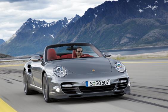 Das neue Porsche 911 Turbo Cabriolet (Foto: Porsche)