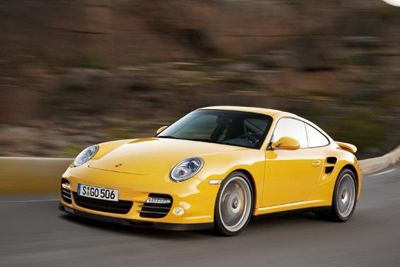 Das neue Porsche 911 Turbo Coupé (Foto: Porsche)