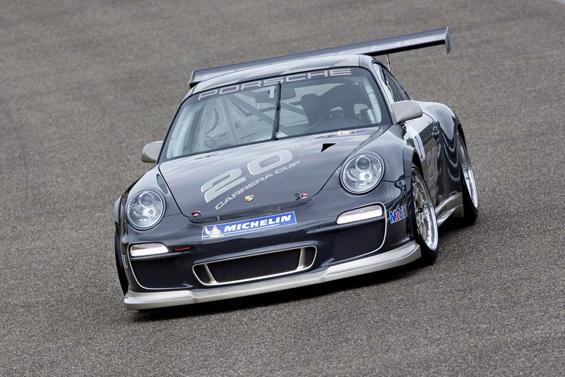 Keine Kompromisse: Der neue Porsche GT3 Cup (Foto: Porsche)