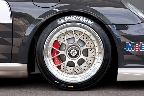 Porsche 911 GT3 Cup: dreiteilige Leichtmetallfelge (Foto: Porsche)