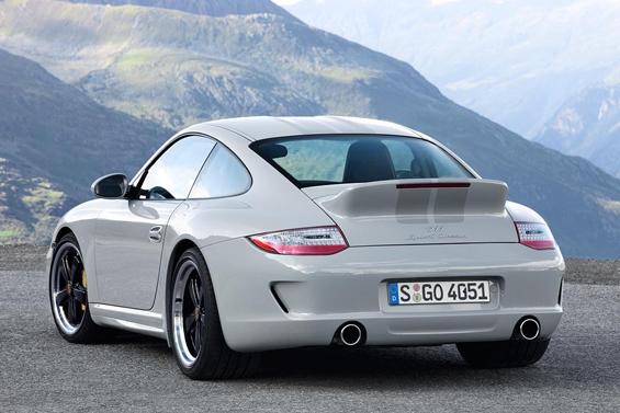 Der Bürzel ist wieder da: Porsche Sport Classic (Foto: Porsche)