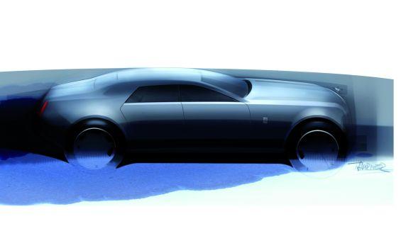 Einer der ersten Entwürfe für die Modellreihe RR4 (Abbildung: Rolls-Royce)