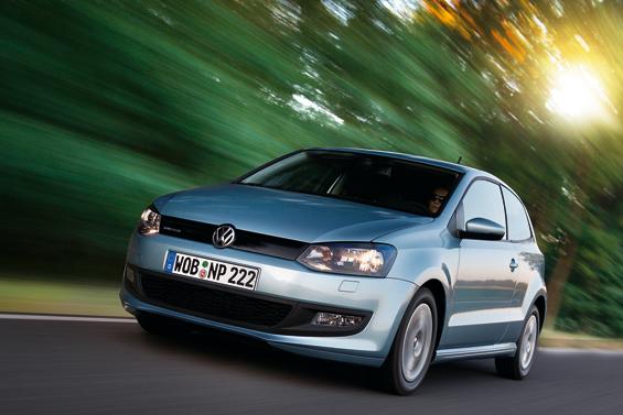 Mit dem Polo BlueMotion hat VW den sparsamsten Fünfsitzer der Welt im Programm (Foto: Volkswagen)