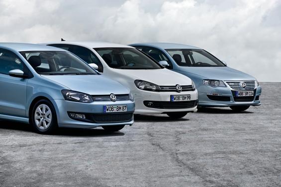 BlueMotion Modelle von Volkswagen für jeden Bedarf (Foto: Volkswagen)