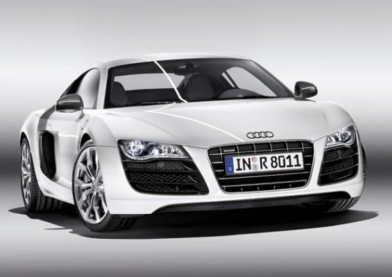 Sieger unter den serienmäßigen Supersportwagen: Der Audi R8 5.2 FSI (Foto: Audi)