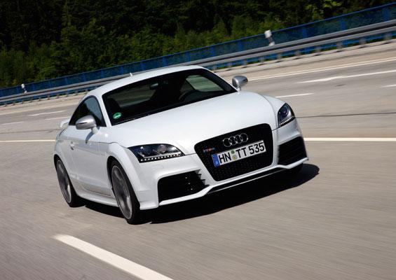 Der Audi TT RS konnte sich in der Klasse der Sprtcoupés durchsetzen (Foto: Audi AG)