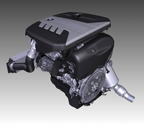 Neuer Motor für den BMW 520d: 2.0 Liter Turbodiesel mit 5 Litern Durchschnittsverbrauch (Foto: BMW)